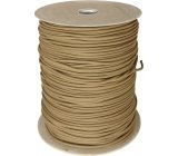 Parachute Cord Coyote Brown.